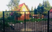 Садовые металлические ворота и калитки
